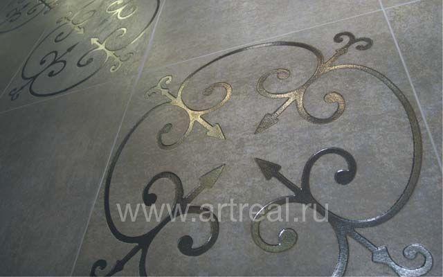 На фото керамическая плитка tagina meetall