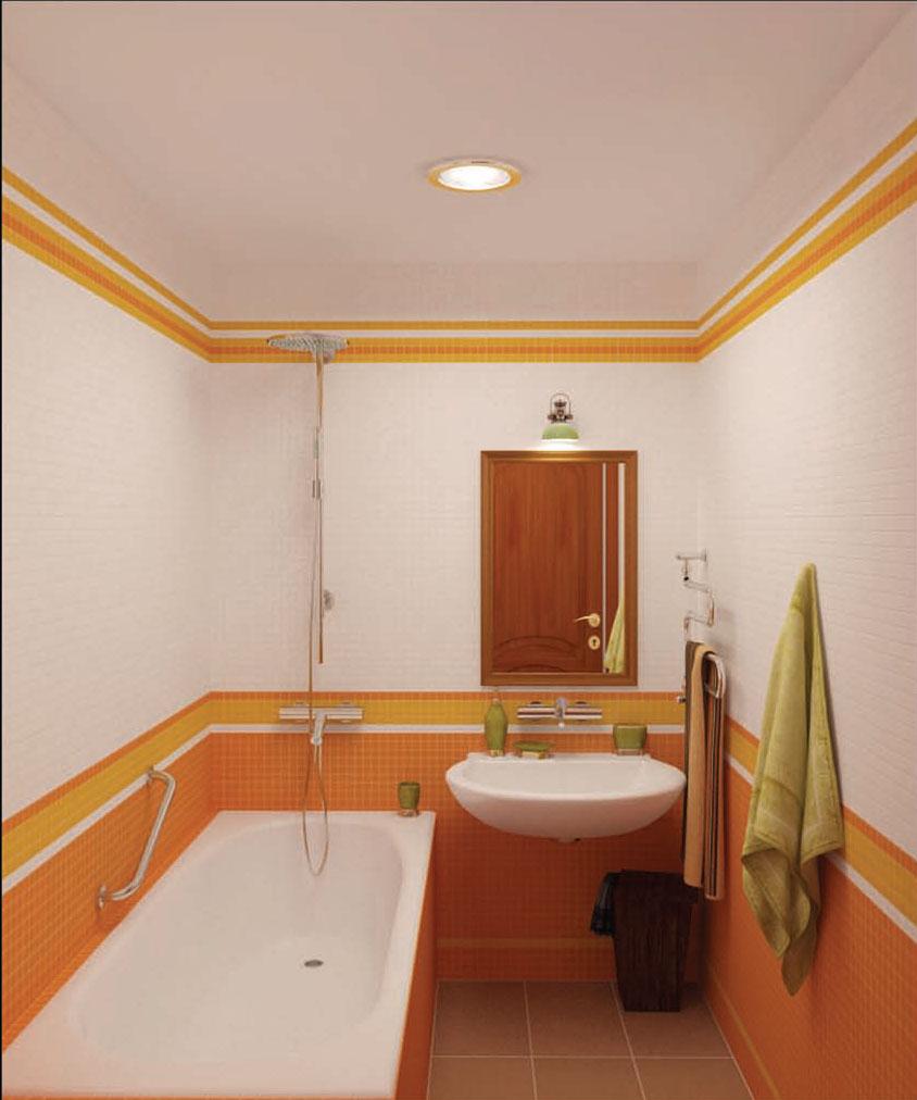 Готовые ванные комнаты фото